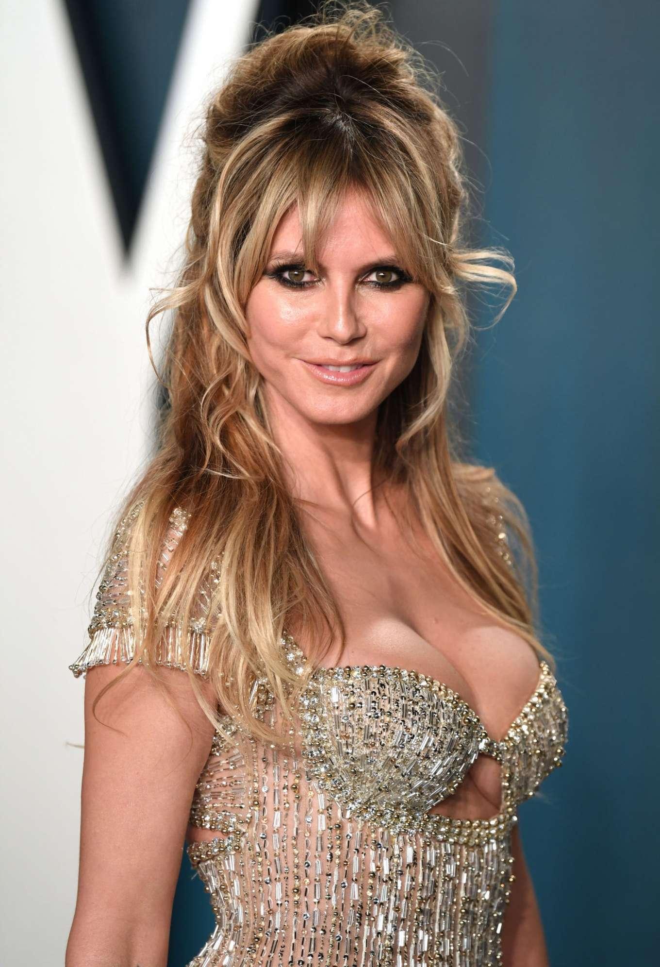 Heidi Klum - 2020 Vanity Fair Oscar Party in Beverly Hills