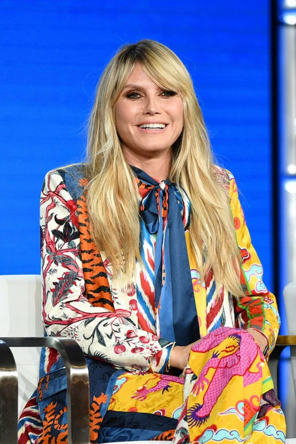 Heidi Klum - 2020 Winter TCA Tour - Day 8 in Pasadena
