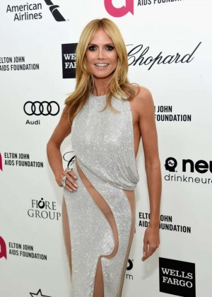 Heidi Klum - Oscars 2015 - Elton John AIDS Foundation Academy Awards Party