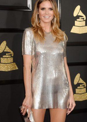 Heidi Klum - 59th GRAMMY Awards in Los Angeles