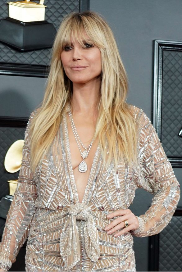 Heidi Klum - 2020 Grammy Awards in Los Angeles
