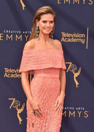 Heidi Klum - 2018 Primetime Creative Arts Emmy Awards in Los Angeles