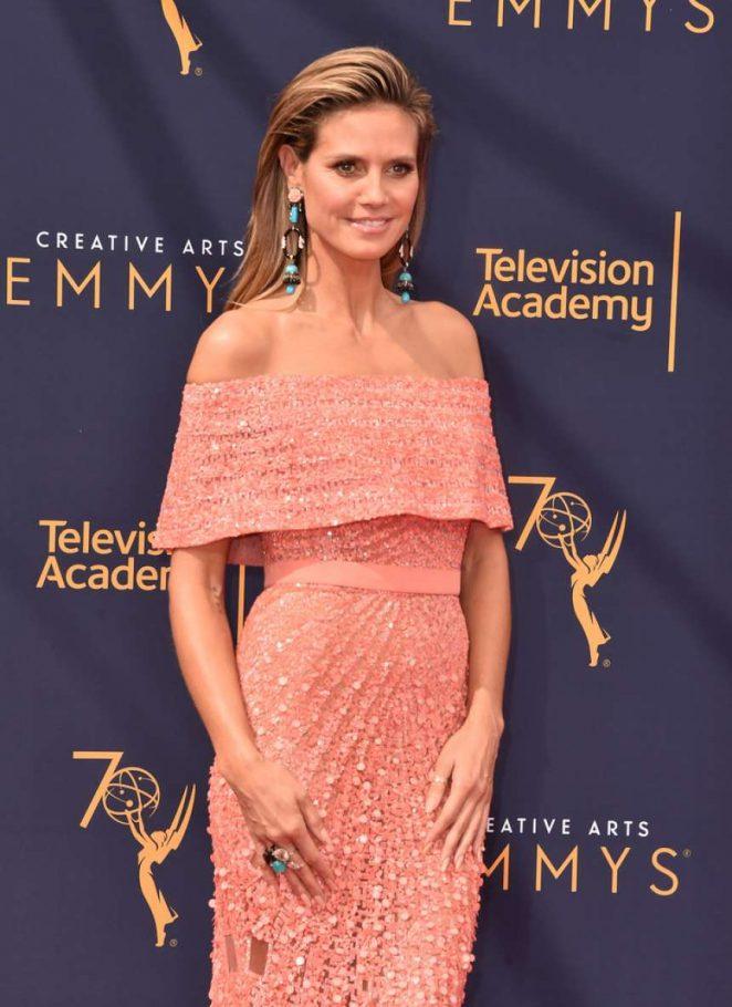 Heidi Klum - 2018 Primetime Creative Arts Emmy Awards in Los Angeles