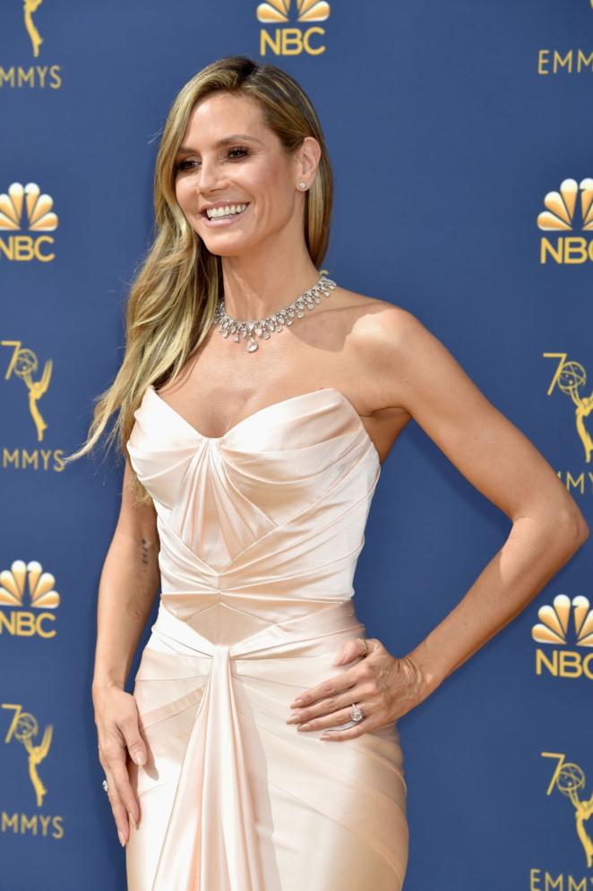 Heidi Klum - 2018 Emmy Awards in LA