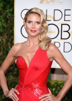 Heidi Klum - 2015 Golden Globe Awards in Beverly Hills