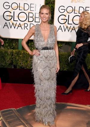 Heidi Klum: 2016 Golden Globe Awards -02