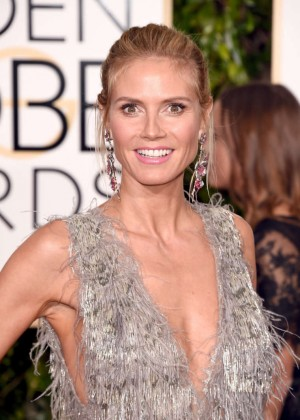 Heidi Klum - 2016 Golden Globe Awards in Beverly Hills
