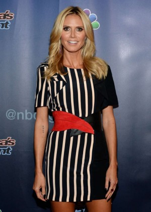 Heidi Klum - 'America's Got Talent' in NYC
