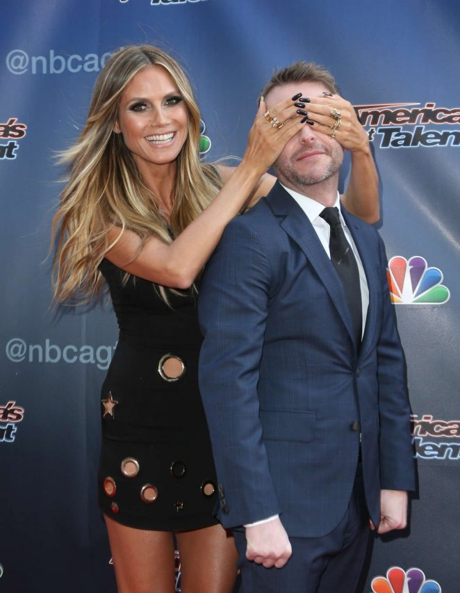 Heidi Klum - 'America's Got Talent' in Universal City