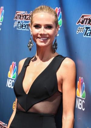 Heidi Klum - 'America's Got Talent' Season 10 Red Carpet Event in Hollywood