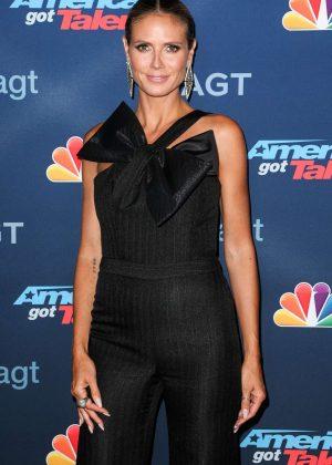 Heidi Klum - 'America's Got Talent' Season 11 Live Show in Hollywood