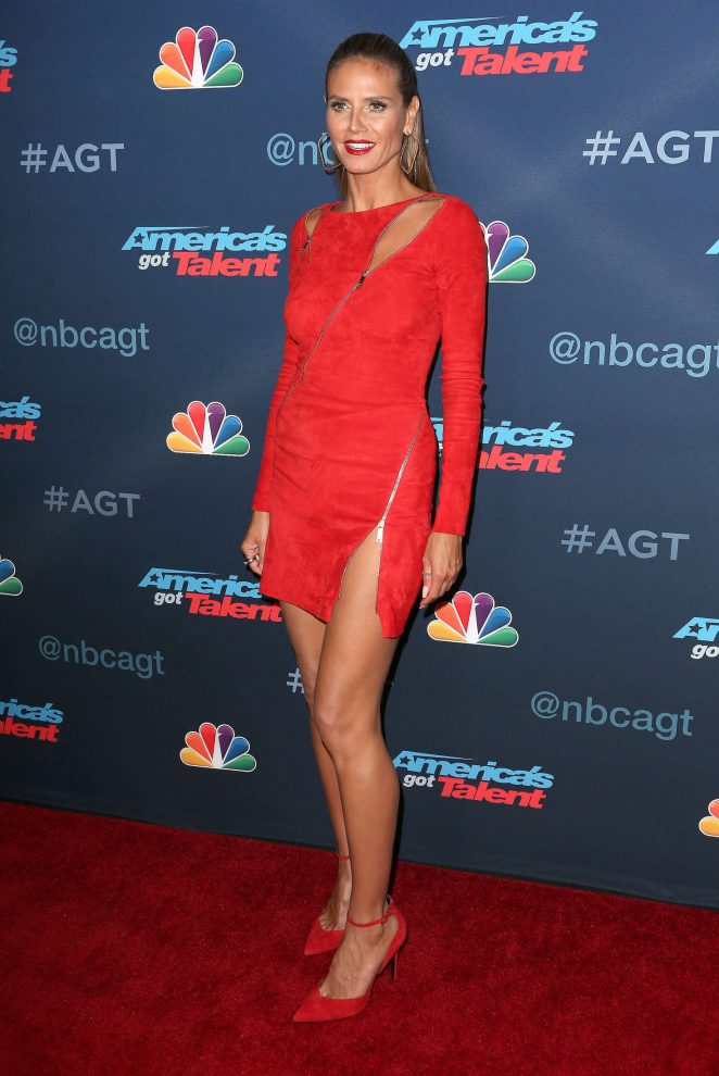 Heidi Klum - America's Got Talent Season 11 Live Show in LA