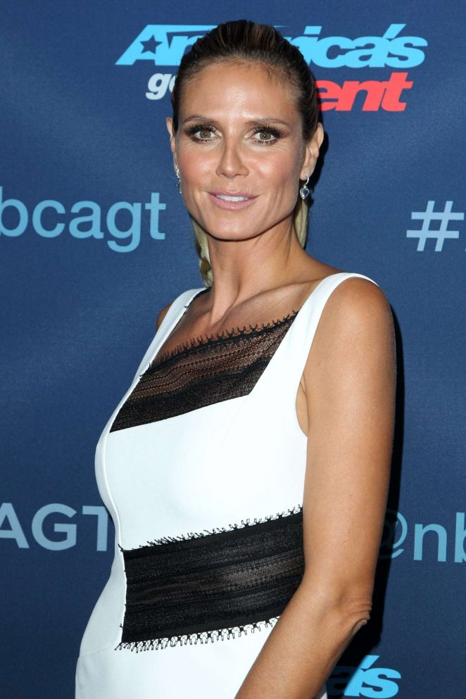 Heidi Klum - 'America's Got Talent' season 11 semi-finals in Hollywood