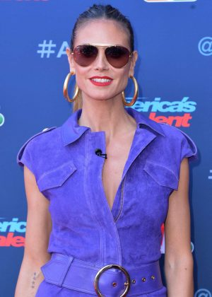 Heidi Klum - America's Got Talent Season 12 Launch in Los Angeles