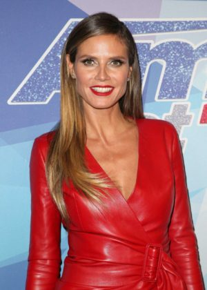 Heidi Klum - Americas Got Talent live show in Los Angeles