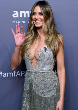 Heidi Klum - amfAR New York Gala 2019 in NYC