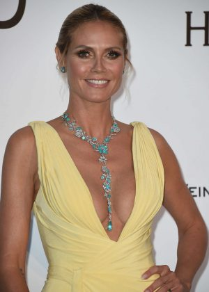 Heidi Klum - amfAR's 23rd Cinema Against AIDS Gala in Antibes