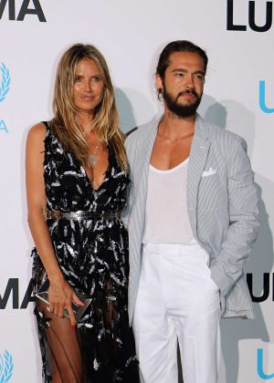 Heidi Klum and Tom Kaulitz - 2018 UNICEF Gala in Porto Cervo