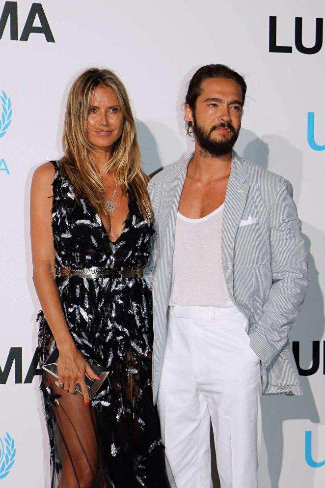 Heidi Klum and Tom Kaulitz - 2018 UNICEF Gala in Porto Cervo