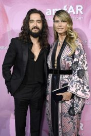 Heidi Klum and Tom Kaulitz - 2019 amfAR Couture Cocktail and Dinner Party in Paris