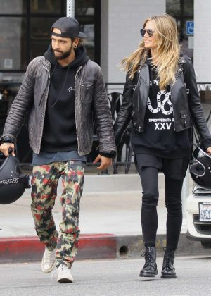 Heidi Klum and Tom Kaulitz at Joans on Third in Studio City