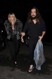 Heidi Klum and Tom Kaulitz attend Paris Hilton's 39th birthday party in Los Angeles