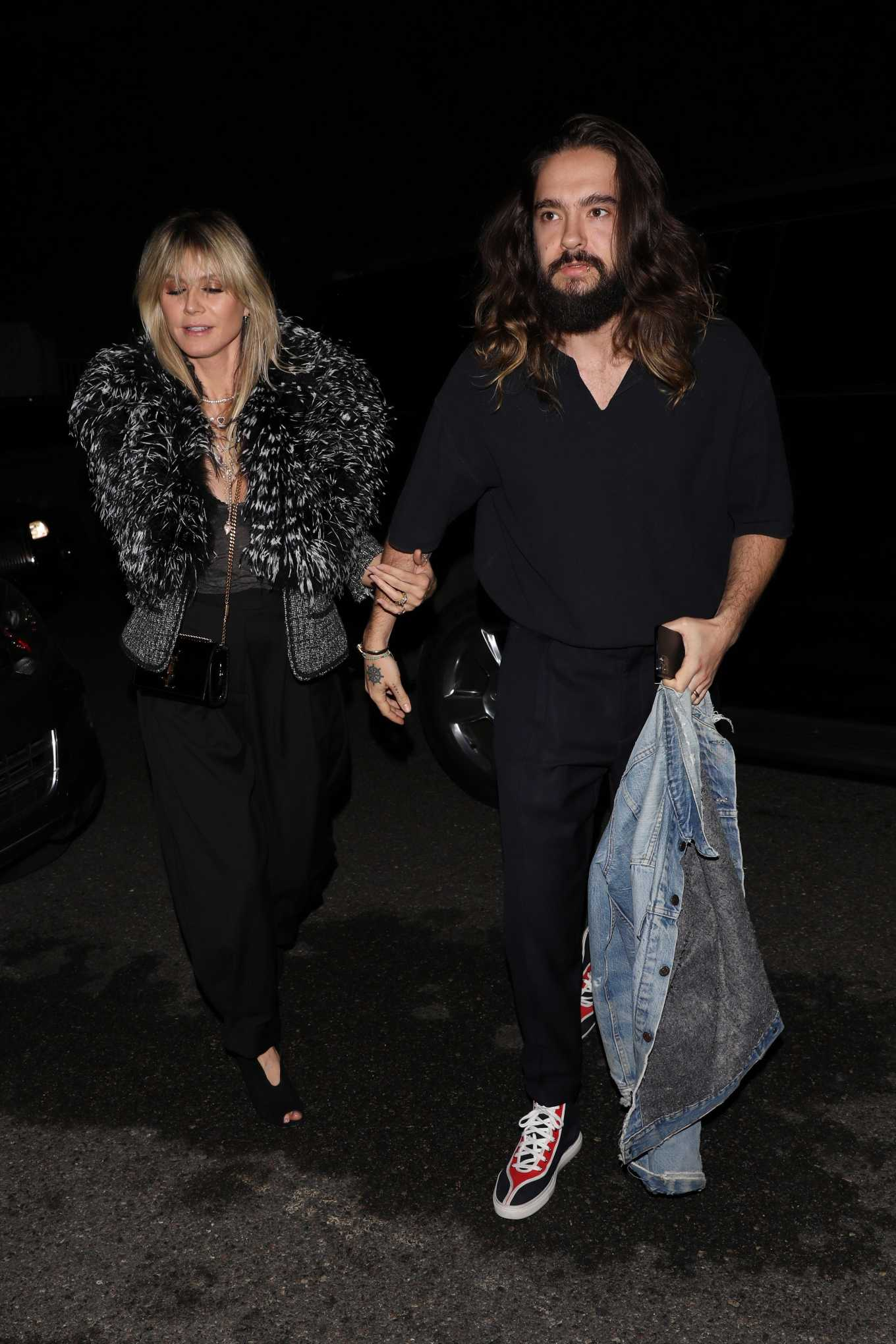 Heidi Klum and Tom Kaulitz attend Paris Hilton's 39th birthday party in Los Angeles