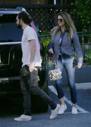 Heidi Klum and Tom Kaulitz - Out in Bel Air