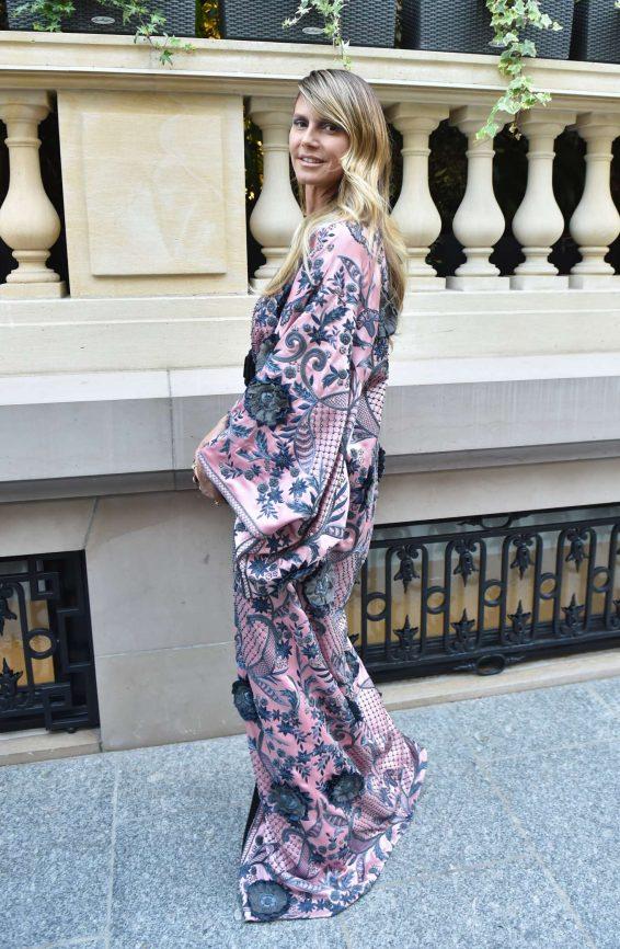 Heidi Klum – Arrives at amfAR Party in Paris-18