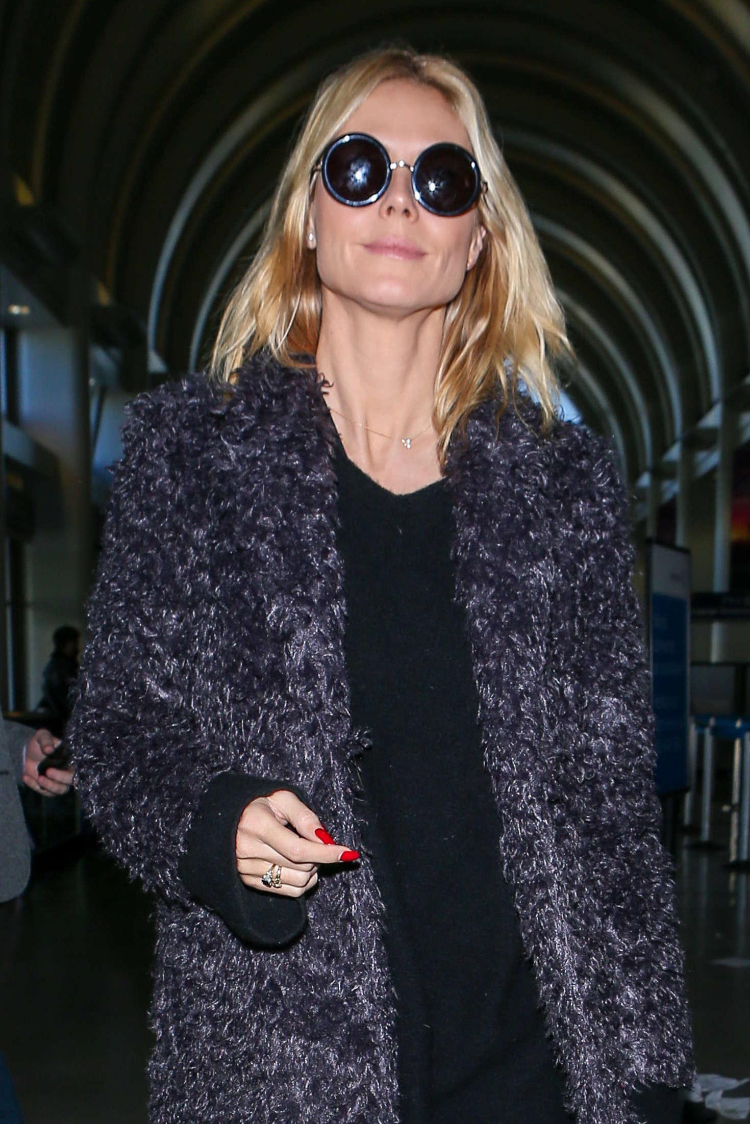 Heidi Klum 2015 : Heidi Klum: Arrives at LAX Airport -05