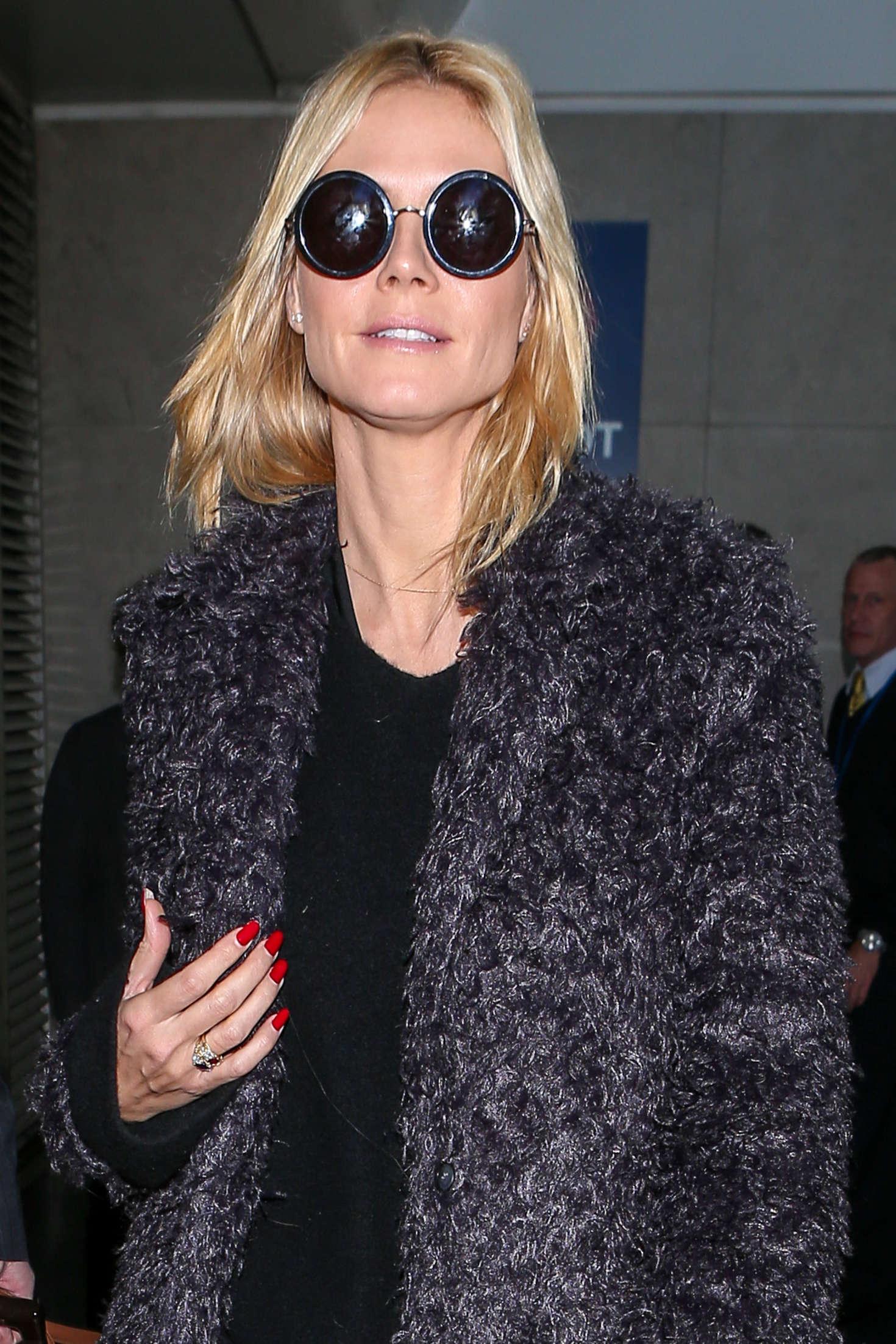 Heidi Klum 2015 : Heidi Klum: Arrives at LAX Airport -10
