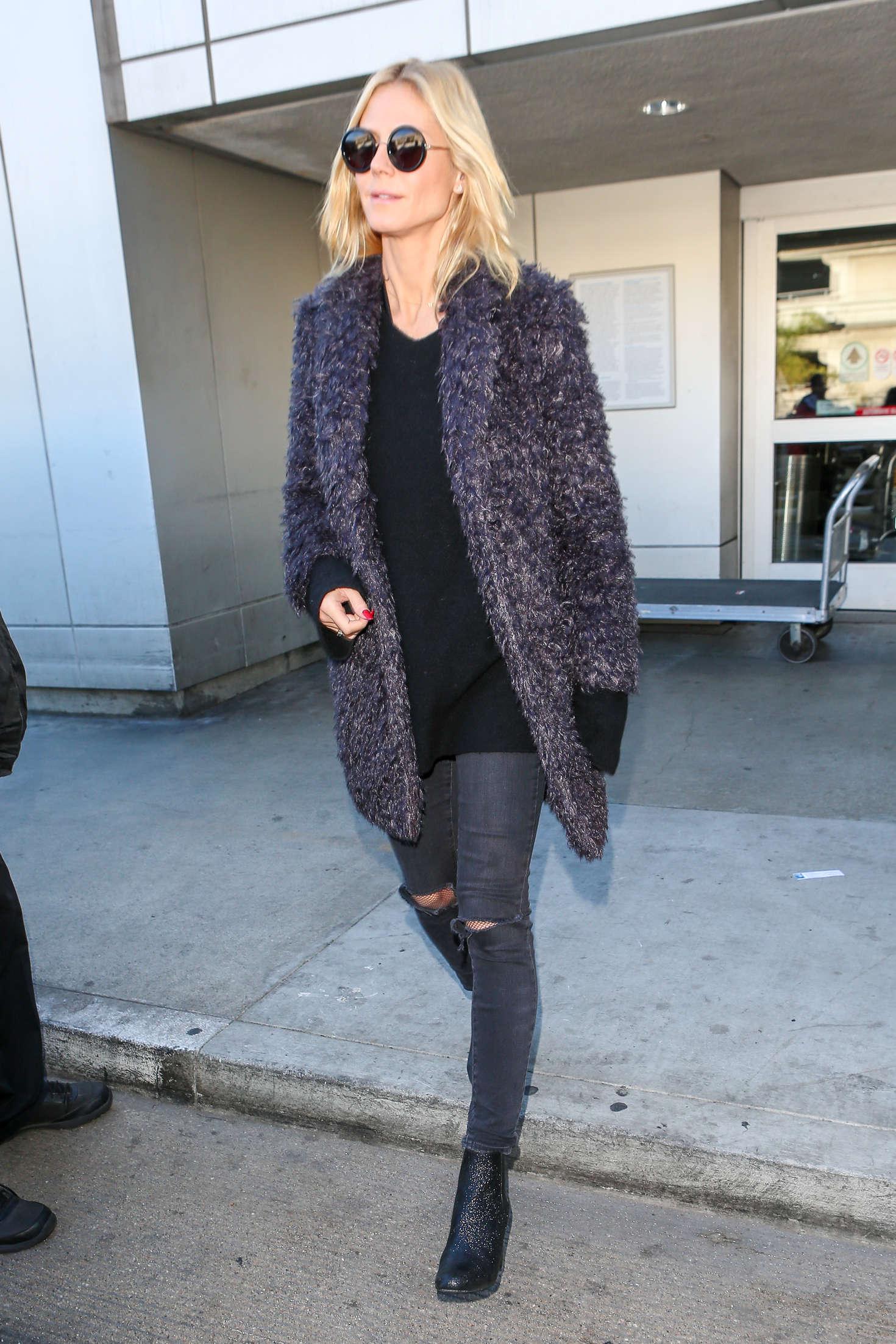 Heidi Klum 2015 : Heidi Klum: Arrives at LAX Airport -17