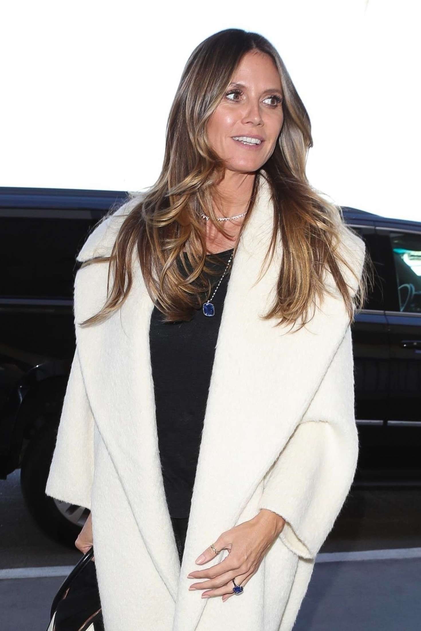 Heidi Klum - Arrives to LAX Airport in Los Angeles