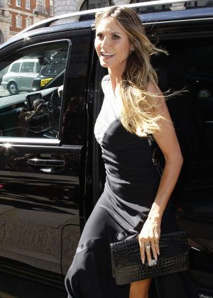 Heidi Klum - Arriving at Her Book Singing With Rankin in London