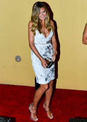 Heidi Klum - Arriving to the Simon Cowell 'Hollywood Star Celebration Party' in LA