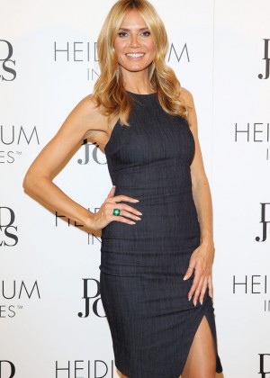 Heidi Klum at David Jones in Sydney