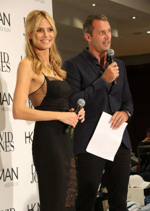 Heidi Klum at David Jones Store in Sydney