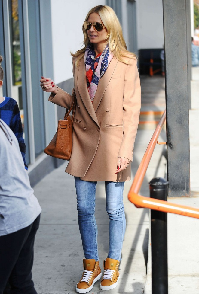 Heidi Klum at LAX Airport in LA
