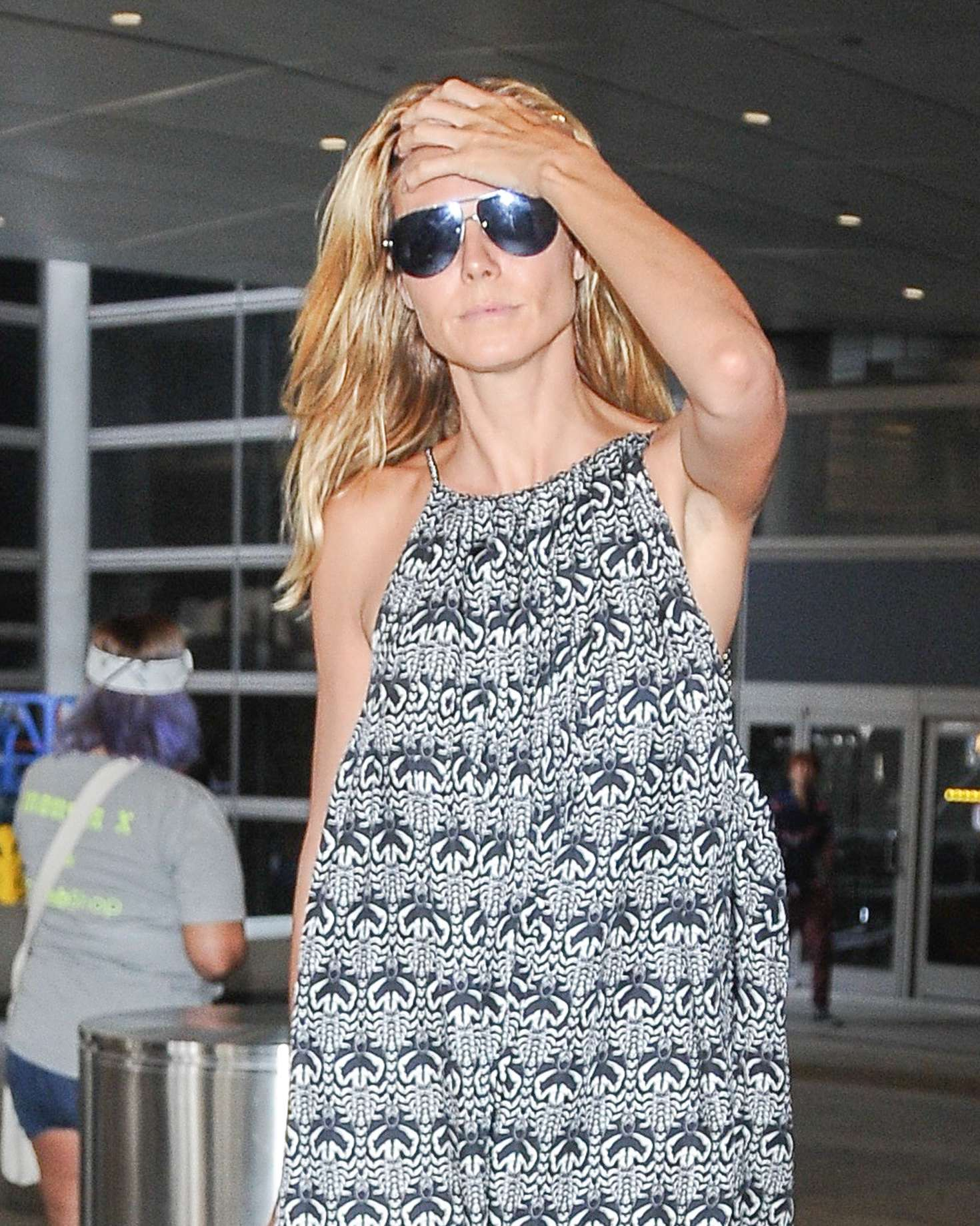 Heidi Klum at LAX Airport in Los Angeles