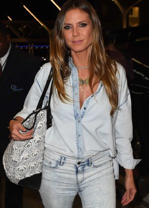 Heidi Klum at LAX International Airport in Los Angeles