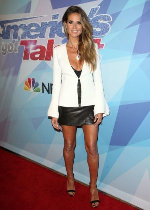 Heidi Klum - At NBCs Americas Got Talent Season 12