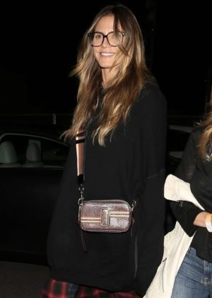 Heidi Klum at the Janet Jackson State of The World Tour in Hollywood