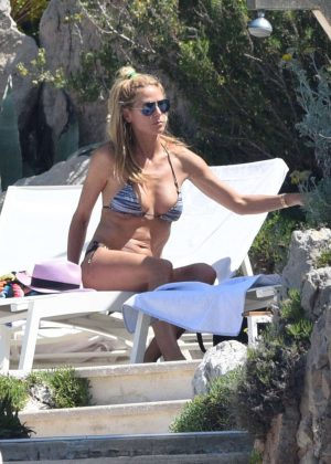 Heidi Klum in Bikini in Antibes