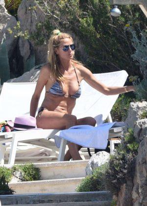 Heidi Klum in Bikini in Antibes
