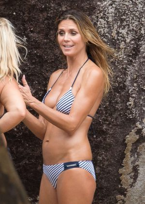 Heidi Klum - Bikini Photoshoot in the British Virgin Islands