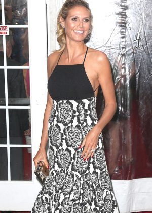 Heidi Klum - 'Cafe Society' Premiere in New York City