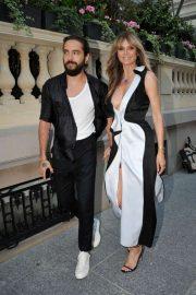 Heidi Klum - Carine Roitfeld Parfums '7 Lovers' Cocktail Party in Paris