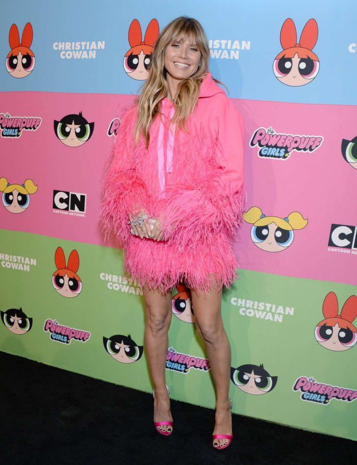 Heidi Klum: Christian Cowen x The Powepuff Girls Runway Show -02