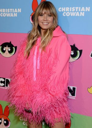 Heidi Klum - Christian Cowen x The Powepuff Girls Runway Show in LA
