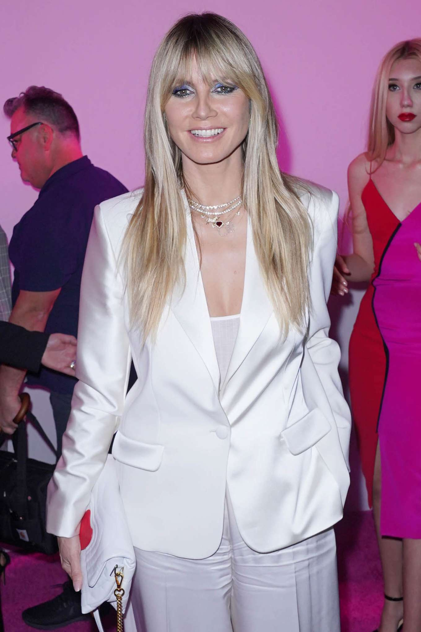 Heidi Klum - Christian Siriano Show at New York Fashion Week 2020